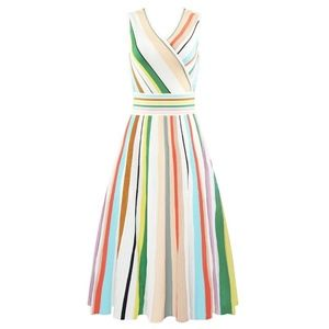 Dresses & Skirts - Multi Colour Stripped Dress